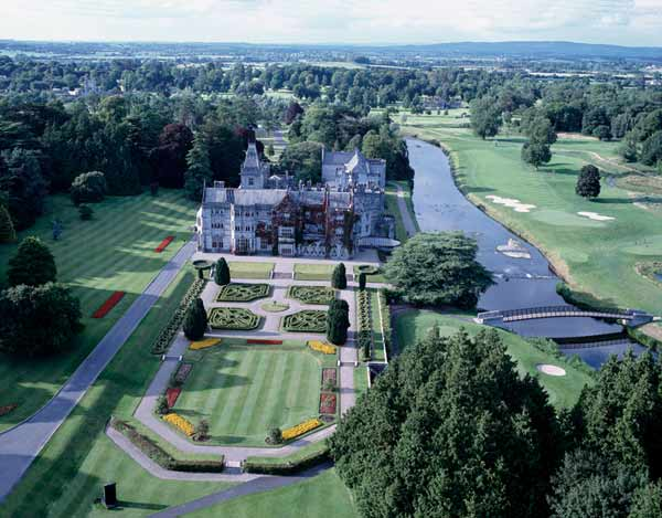 Aerial photo of Adare Manor