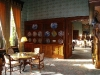 Photo of cupboards in the dining room, Ashford Castle