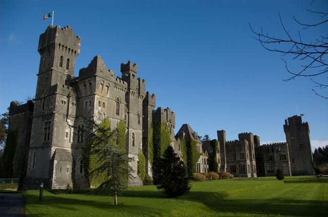Photo of Ashford Castle in Ireland
