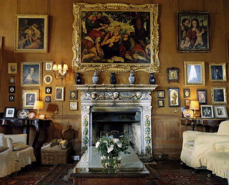 Photo of the Drawing Room in Castle Leslie