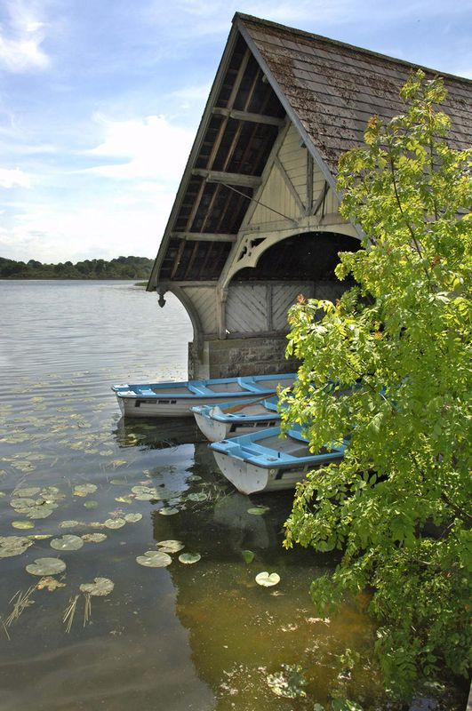 Photo of the Boat House in Castle Leslie