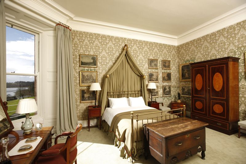 Photo of the Greed Bedroom in Castle Leslie
